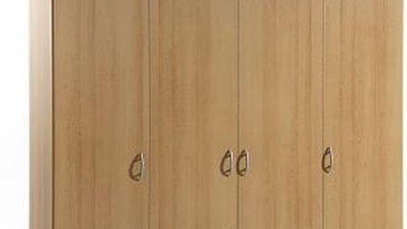SCONTO BASE 4 Šatní skříň