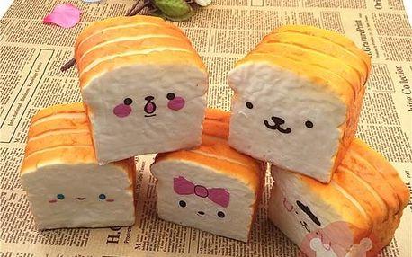 Antistresový toastový chléb