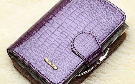 Dámská elegantní peněženka v krokodýlím vzoru - 3 barvy - poštovné zdarma