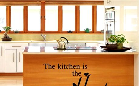 Samolepka na zeď do kuchyně HEART