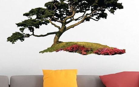 Samolepka na zeď - Japonský strom