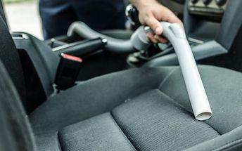 Kompletní péče o váš vůz: tepování sedadel, dveří, kufru + 100 Kč sleva na další návštěvu