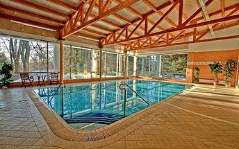 Mariánské Lázně: pobyt až na 4 dny pro dva: snídaně či polopenze, bazén a wellness