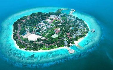 Maledivy - Severní Atol Male na 8 dní, plná penze s dopravou letecky z Prahy