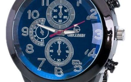Masivní pánské hodinky se 3 ozdobnými ciferníčky