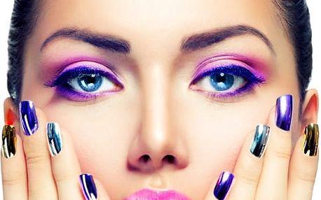 Suchá manikúra, akrylové či gelové nehty nebo lakování Gel lakem ve Vršovicích