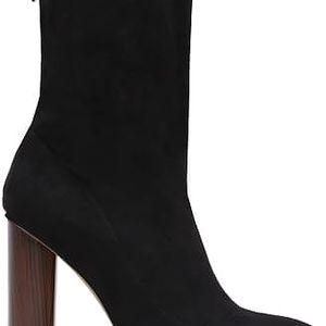 Dámské černé kotníkové boty Bibianne 6049