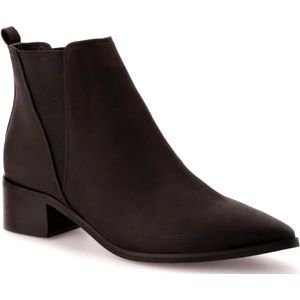 Dámské černé kotníkové boty Roma 975