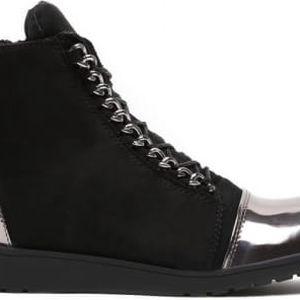 Dámské černé kotníkové boty Danna 1044a