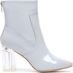 Dámské šedé kotníkové boty Ellema 6048