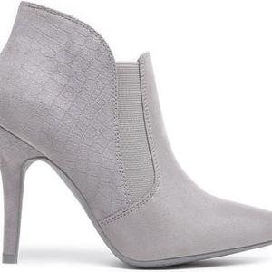Dámské šedé kotníčkové boty Yassine 1080