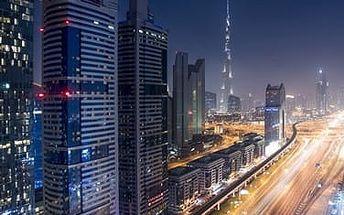 Dubaj, Spojené arabské emiráty, hotel Emirates Grand, letecky, snídaně v ceně