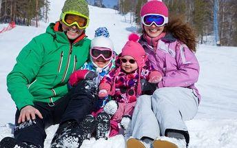 Ať si rodina užije zimu na horách! U nás 1 dítě a 1 den navíc zdarma. A wellness k tomu!