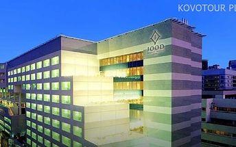 Dubaj, Spojené arabské emiráty, hotel Jood Palace, letecky, snídaně v ceně
