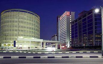 Dubaj, Spojené arabské emiráty, hotel Ibis One Central, letecky, snídaně v ceně