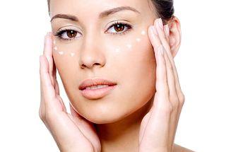 60 minut - kosmetické ošetření s lymfodrenáží, Regenerační a relaxační ošetření.