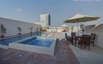 Dubaj, Spojené Arabské Emiráty, hotel Orchid Vue, letecky, snídaně v ceně