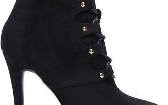 Dámské černé kotníkové boty Tajra 6029