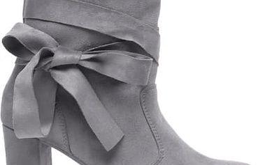 Dámské šedé kotníkové boty Contesa 1073