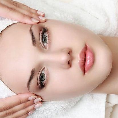 Hodinové kosmetické ošetření obličeje 5 v 1 v Institutu Medi Line v Praze