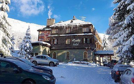 3–6denní wellness pobyt pro 2 s polopenzí v Alpském hotelu ve Špindlerově Mlýně