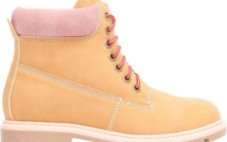 Dámské pískové kotníkové boty Morgan 2047