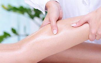 Masáž lýtek a chodidel v salonu Miruš v Plzni. Dopřejte svým nohám zasloužený relax.