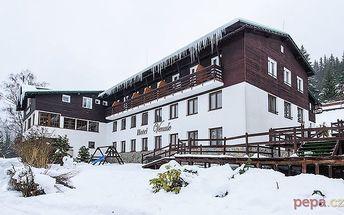 3–6denní pobyt pro 2 s polopenzí a slevami v hotelu Venuše*** ve Špindlerově Mlýně