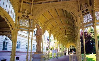 Relaxační dovolená v Karlových Varech až na 5 dnů