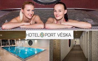 2hodinový vstup pro 1 osobu do wellness s bazénem, vířivkou a saunovým světem