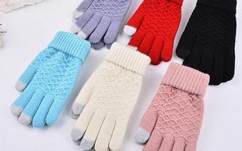 Dámské rukavice na dotykový displej Carly
