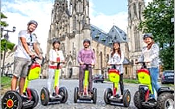 To nejlepší z Olomouce bez jediného kroku! 60 minut zábavy a krásy historických památek díky SEGWAY!