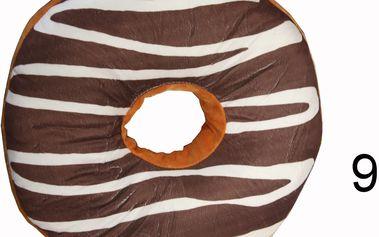 Luxusní polštář ve tvaru koblihy Vzor: 9