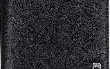 Quiksilver Kožená peněženka Macking Black EQYAA03185-KVJ0