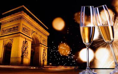 Silvestrovský zájezd do Paříže s 1 nocí v hotelu