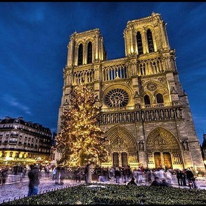 Silvestrovská Paříž zajezd pro 1 osobu v akci