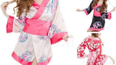 Svůdné dámské kimono Gejša