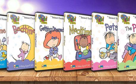 Angličtina pro kojence a batolata: 6 hravých DVD