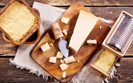 Exkluzivní italský parmazán zn. Parmareggio