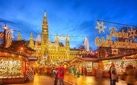 Celodenní výlet do adventní Vídně s nákupem v superlevném Primarku
