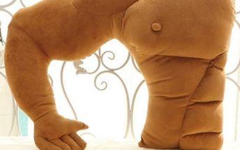 Objímací polštář Svalnatý přítel