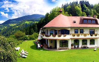 3 až 6denní wellness pobyt pro dva v hotelu Biolandhaus Arche v rakouských Korutanech