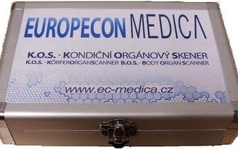 Kondiční orgánový skener: skenování pro zjištění stavu orgánů + konzultace rizik a prevence