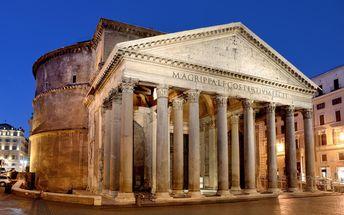 Itálie - Řím, Florencie a Pisa pro 1 osobu včetně dopravy a 2 nocí se snídaní