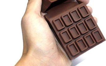 Silikonové čokoládové pouzdro na cigarety