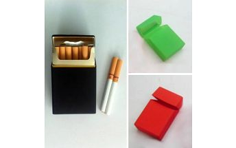 Silikonové pouzdro na cigarety Color