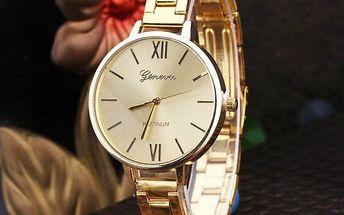 Ležérní náramkové hodinky - Dámské