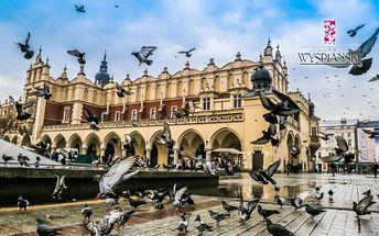 Krakov v historickém centru se snídaní