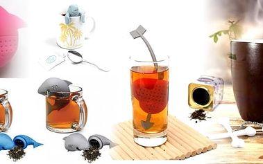 1. Mr. Tea, Král čaje - originální čajové sítko- 6 druhů. Vychutnejte si svůj šálek čaje. Drobnost, která potěší i vaše blízké.