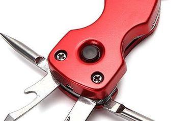 Multifunkční přívěsek na klíče 5v1